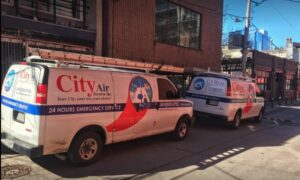 HVAC Service Toronto for HVAC Vehicle for service of AC, Boiler, Furnace, Water Heaters, Duct Cleaning in Toronto